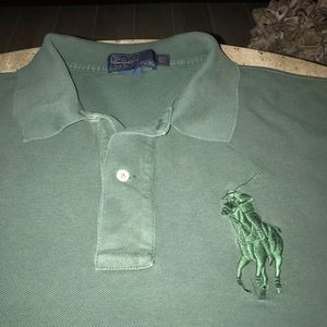Polo Ralph Lauren Big Pony Grey Shirt